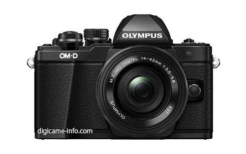 Камера Olympus OM-D E-M10 Mark II очень похожа на модель Olympus OM-D E-M10