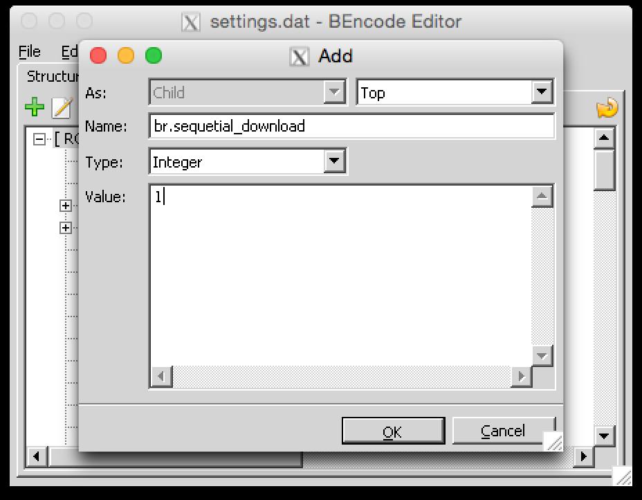 Последовательное скачивание в uTorrent для Mac OS - 6