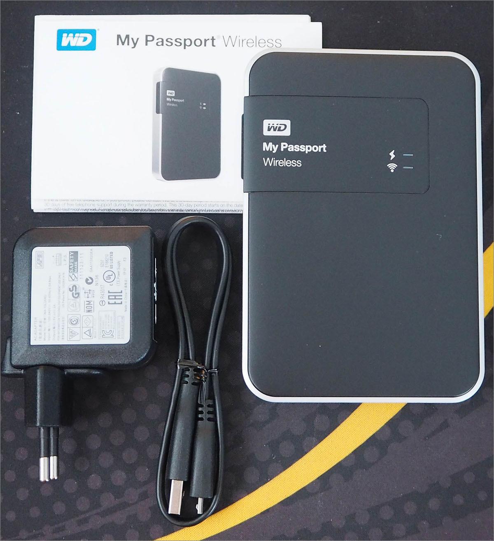 Тестирование беспроводного жесткого диска Western Digital My Passport Wireless 1 Tb - 4
