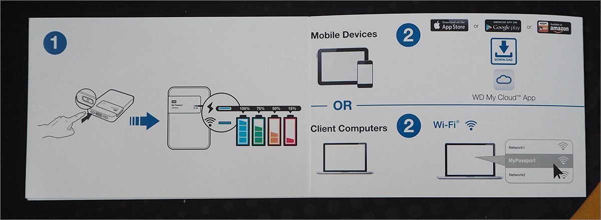 Тестирование беспроводного жесткого диска Western Digital My Passport Wireless 1 Tb - 5