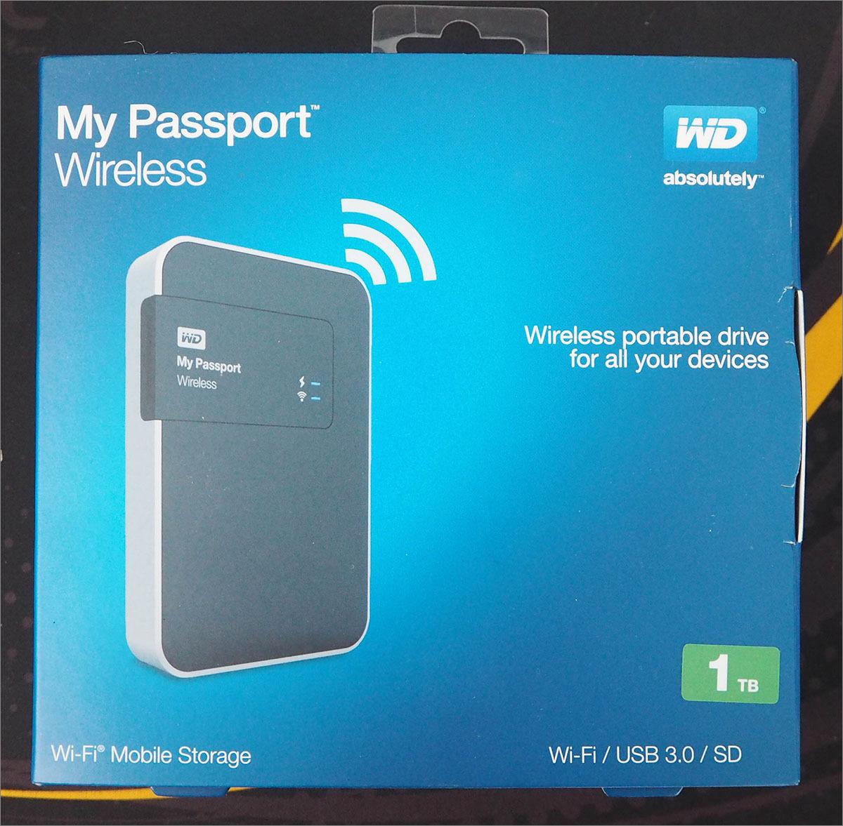 Тестирование беспроводного жесткого диска Western Digital My Passport Wireless 1 Tb - 1