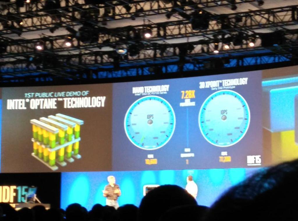 Intel и Micron рассказали о новой энергонезависимой памяти, которая в 1000 раз быстрее NAND - 1