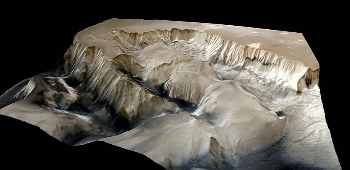 Mangalyaan прислал детальные изображения поверхности Марса - 2