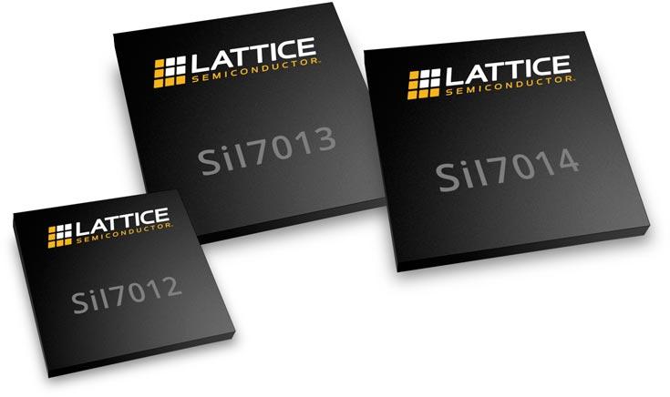 Представлены контроллеры Lattice Semiconductor SiI7012, SiI7013 и SiI7014