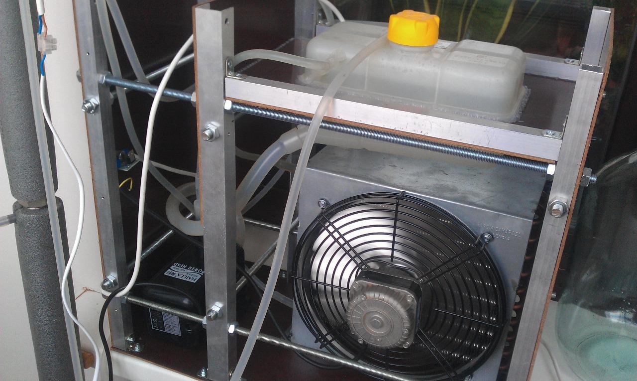 Холодильник для дистилляции с воздушным охлаждением - 2