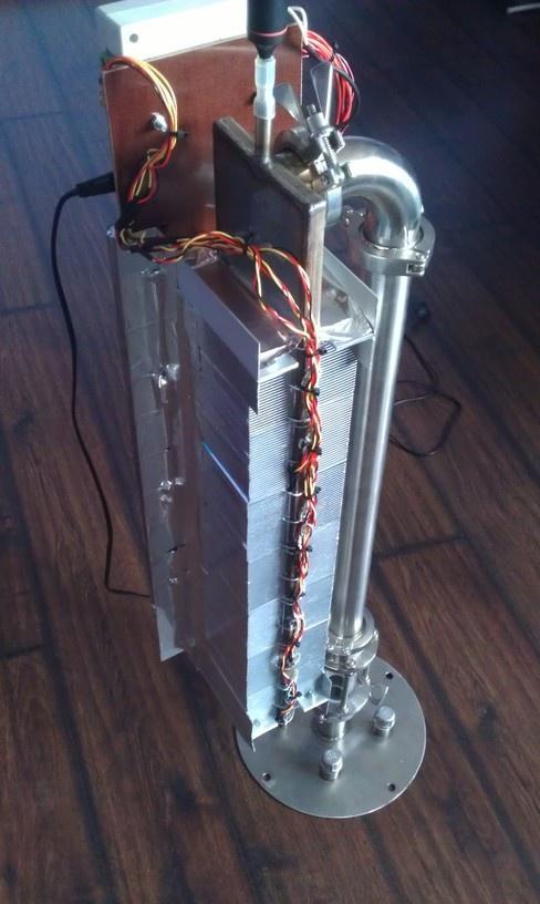 Холодильник для дистилляции с воздушным охлаждением - 4