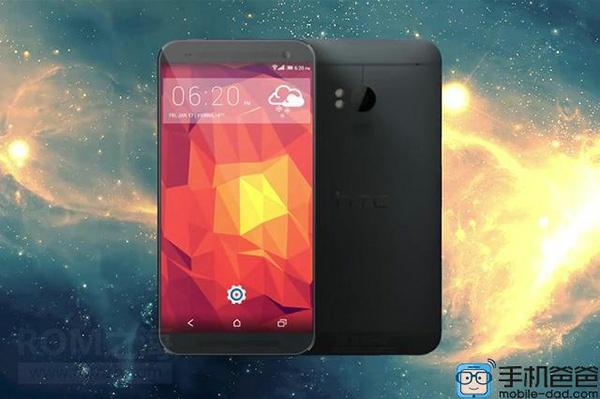 Возможно, так будет выглядеть новый флагманский смартфон HTC