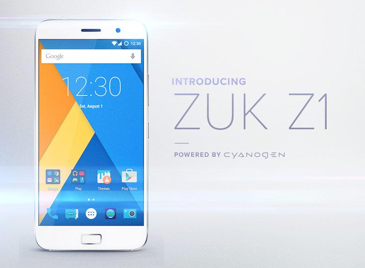 Zuk объявляет о партнерстве с Cyanogen