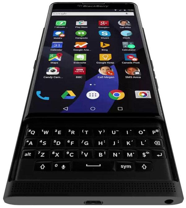 Смартфон BlackBerry с ОС Android и выдвижной клавиатурой стал героем видеоролика