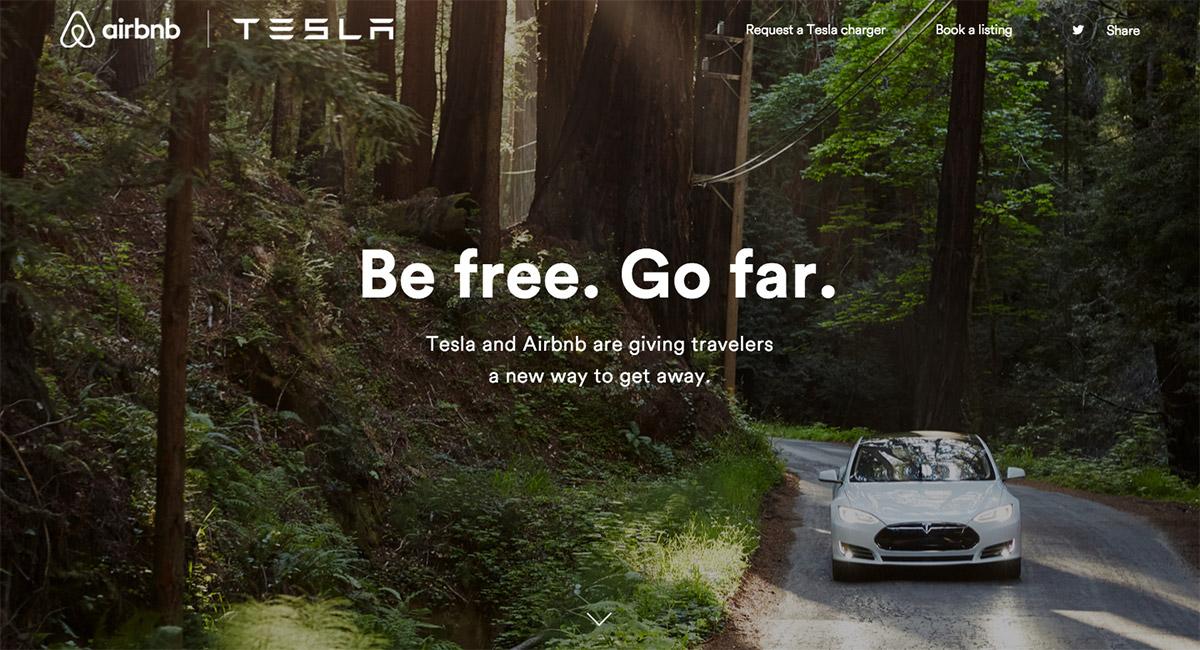 Tesla раздаст 100 зарядных станций хостам Airbnb - 1
