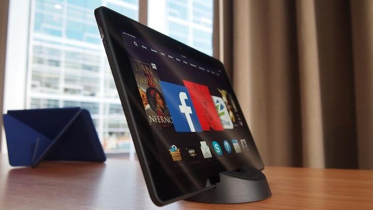 Amazon хочет выпустить большой планшет