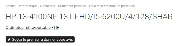 Укомплектованный процессором Intel Skylake ультрабук HP Spectre x360 13 замечен во французском интернет-магазине