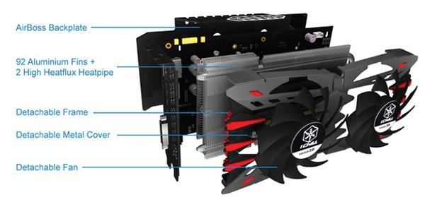 Inno3D iChill GTX 950 2GB Ultra: система охлаждения