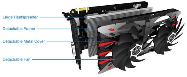 Inno3D iChill GTX 950 2GB: система охлаждения