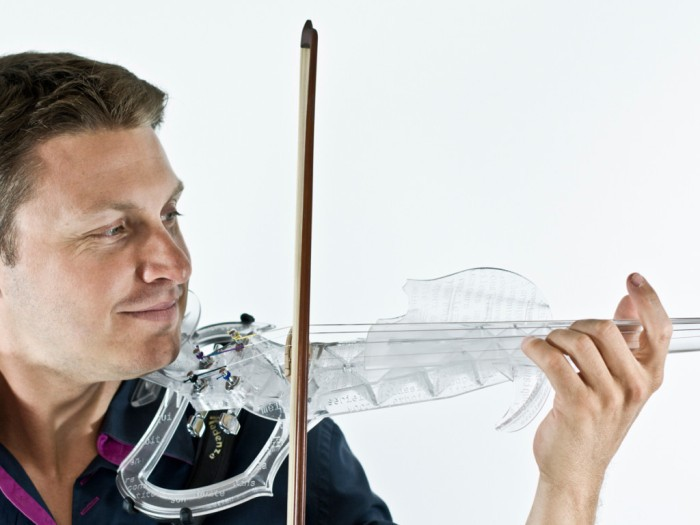 3Dvarius: алгоритмически оптимизированная электроскрипка - 2