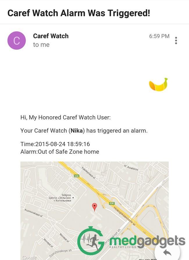Caref — умные часы для обеспечения безопасности детей и спокойствия их родителей - 5