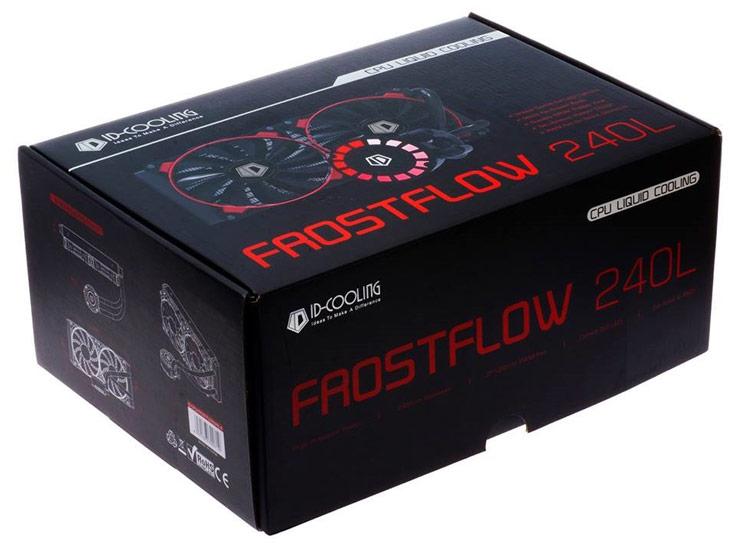 Жидкостная система охлаждения ID-Cooling FrostFlow 240L совместима с процессорами Intel и AMD