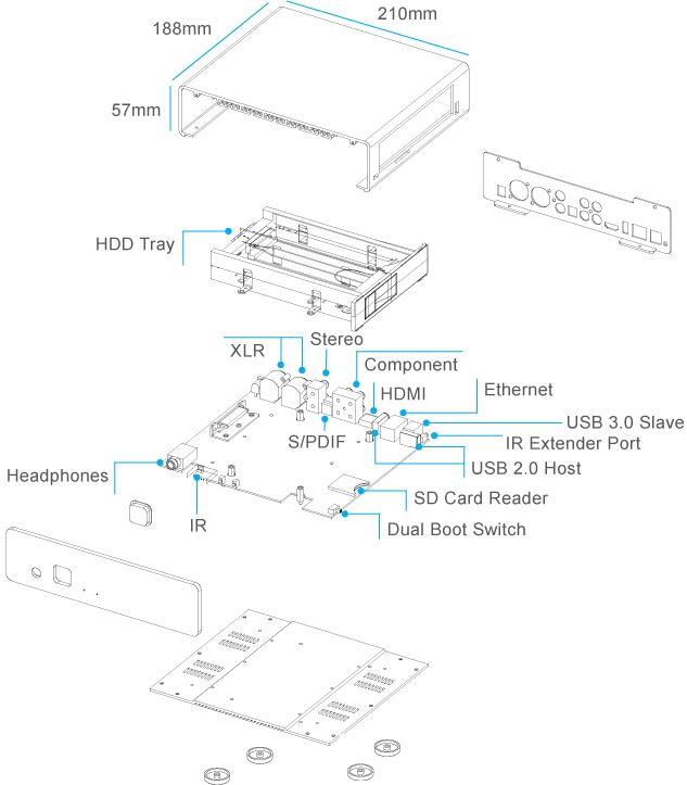 Медиаплеер Popcorn Hour A-500 Pro с качественным аналоговым звуком проспонсирован на Kickstarter - 2
