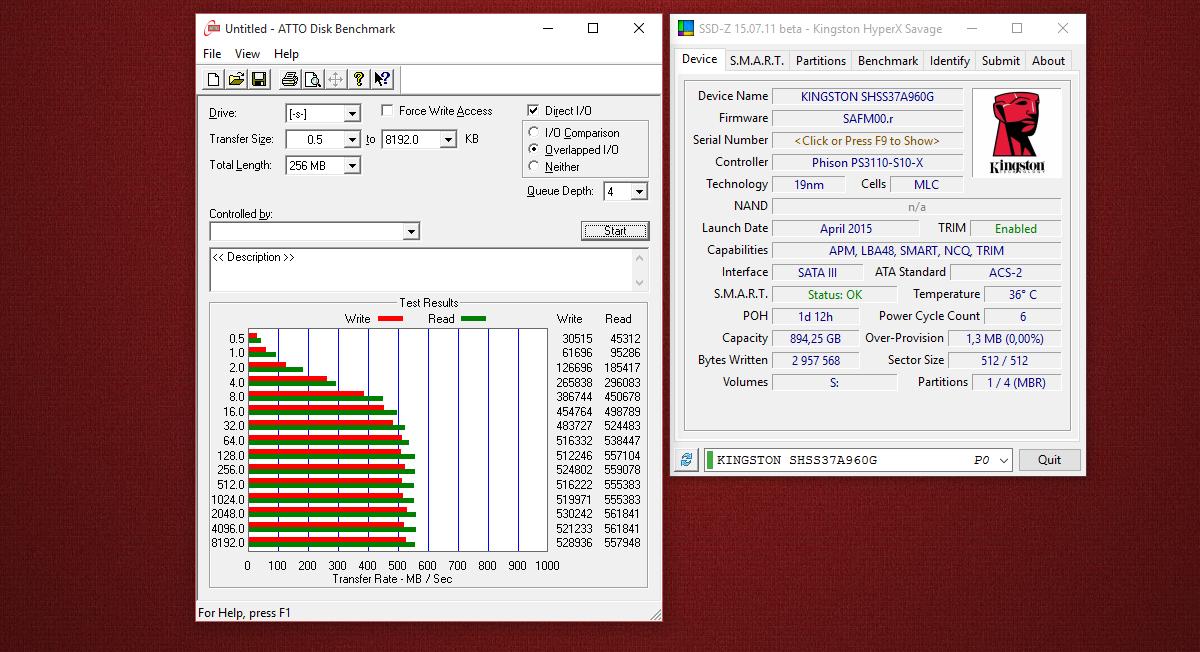 [Тестирование] Твердотельный накопитель HyperX Savage емкостью 960 гигабайт - 6