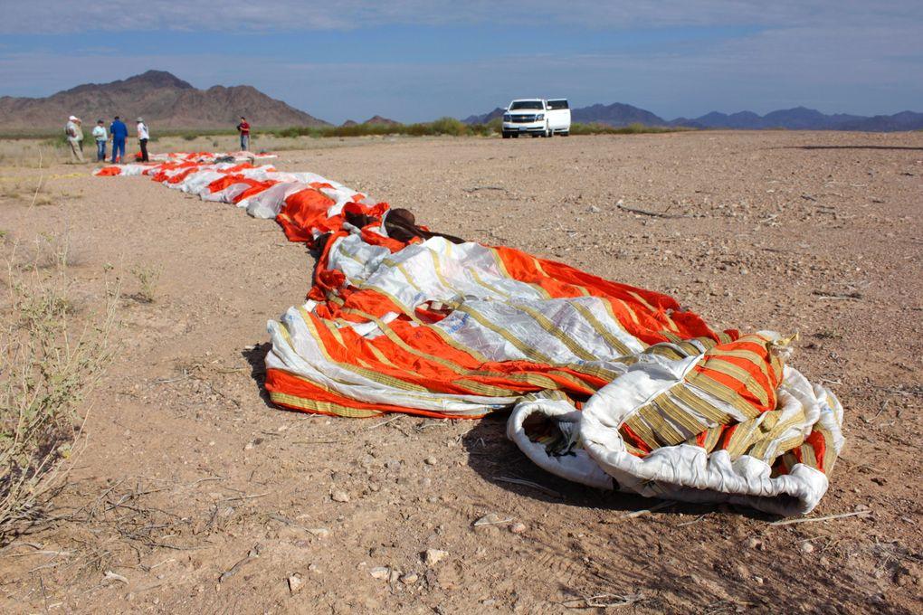 Космический корабль в пустыне: как прошло приземление капсулы Orion? - 12