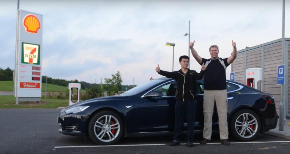 Мировой рекорд для Tesla Model S: 728 км без подзарядки - 1
