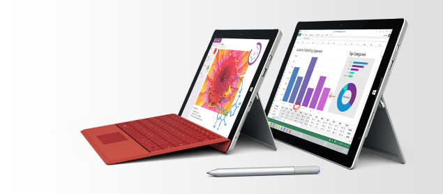 Планшет Microsoft Surface Pro 4 будет выпущен в двух разновидностях, различающихся размером экрана