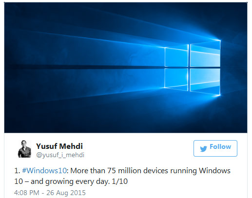 100 млн копий Microsoft Windows 8 было продано за шесть месяцев