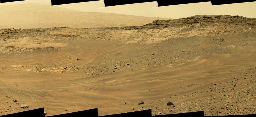 Curiosity — первые шаги по склону - 5