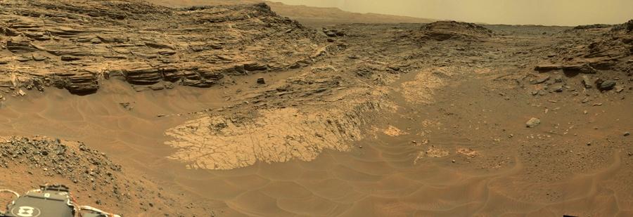 Curiosity — первые шаги по склону - 7
