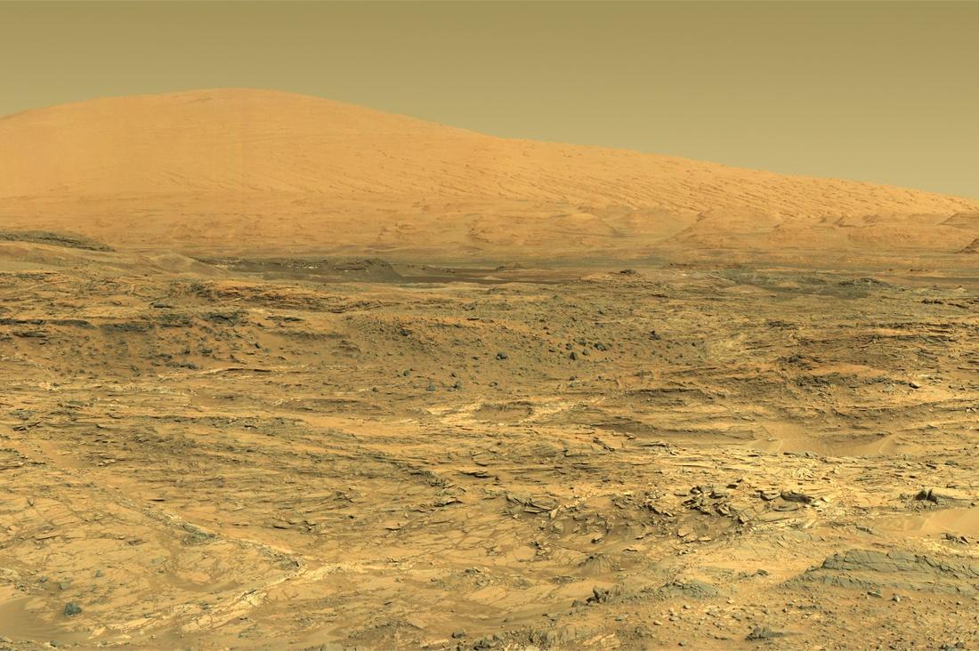 Curiosity — первые шаги по склону - 1