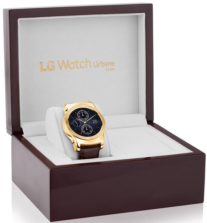 В цену часов LG Urbane Luxe вложен ручной труд и дорогие материалы