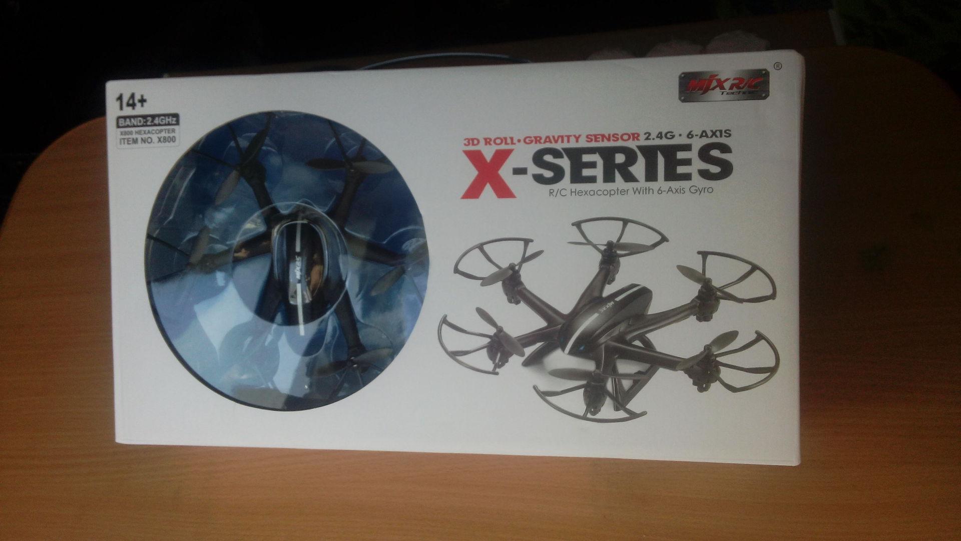 MJX X800 — гексакоптер с удивительными функциями за 29.99$ - 2