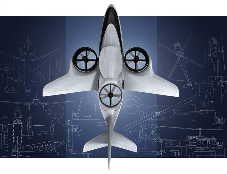 Конвертоплан TriFan 600 объединяет черты самолета и вертолета