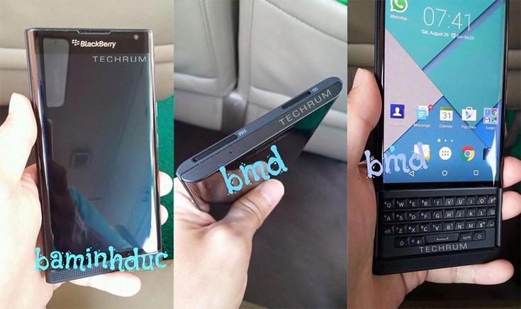 Смартфон BlackBerry Venice запечатлён на множестве снимков