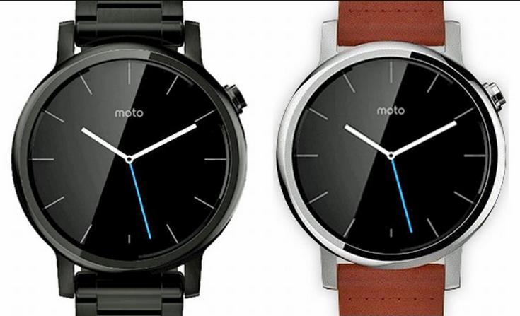 Габариты часов Moto 360L и Moto 360S будут отличаться незначительно