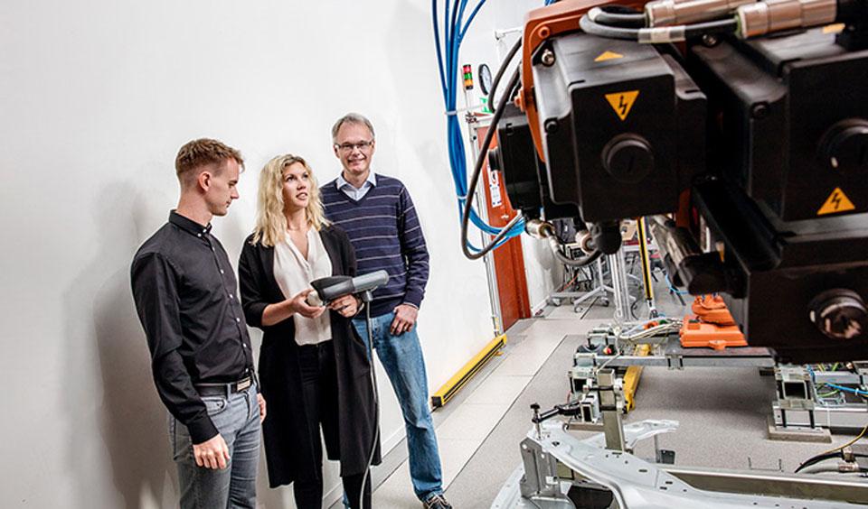 Плавные движения робота позволяют снизить энергопотребление на 40% - 1