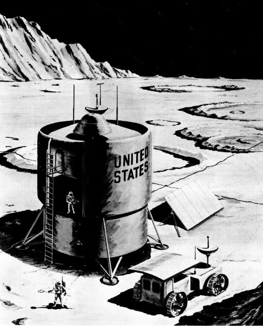 Проекты лунных баз: история - 8
