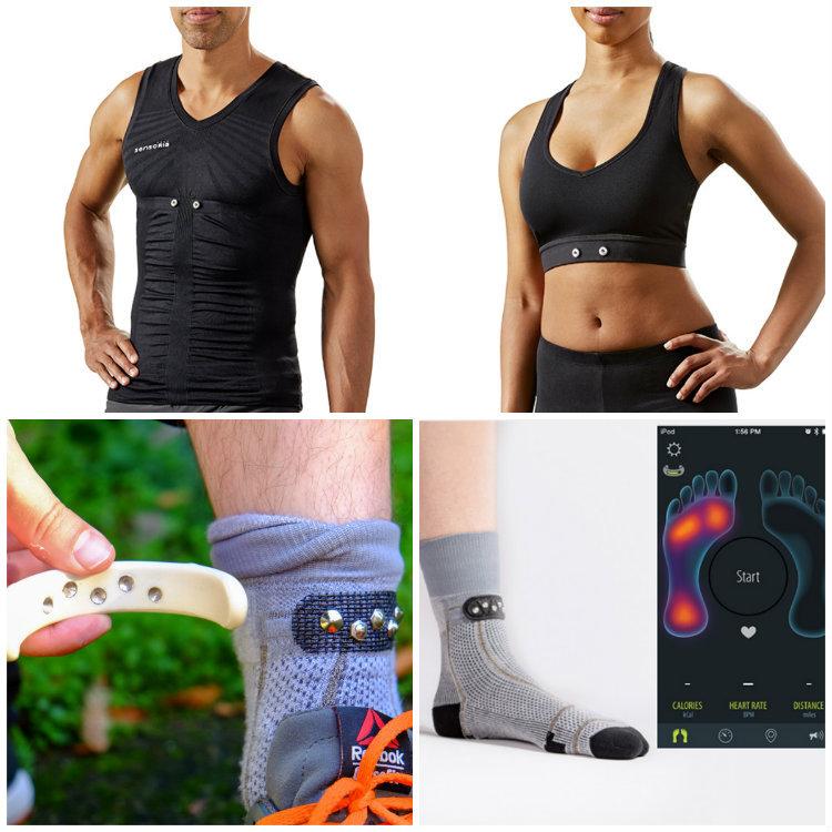 Комплект умной одежды от Sensoria для любителей бега: сам себе фитнес-трекер - 1