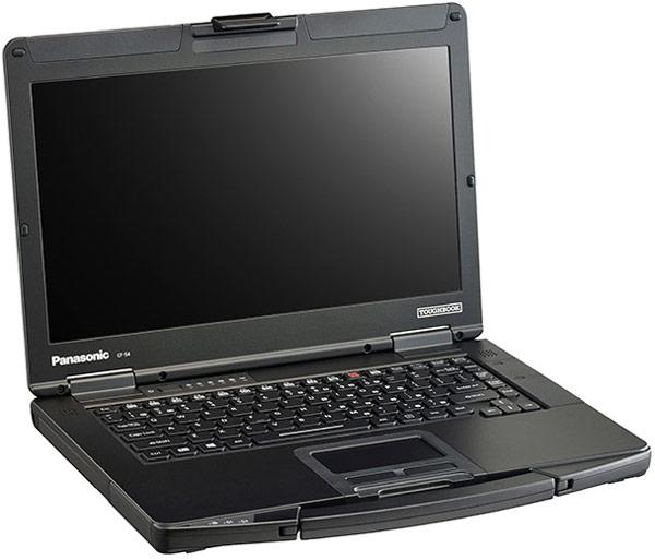 Компания Panasonic представила усиленный ноутбук Toughbook 54