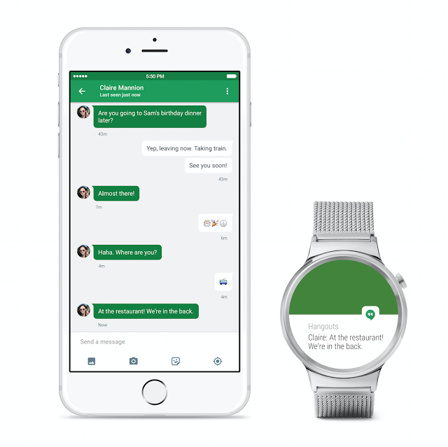 Google добавила в Android Wear поддержку iOS