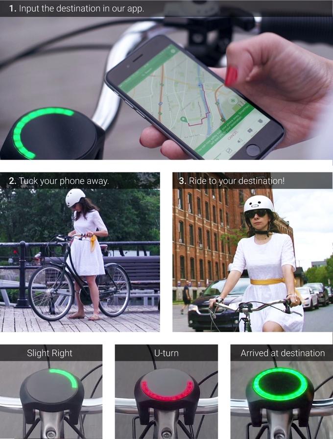 Smarthalo — система, которая превратит жизнь велосипедиста в рай - 2