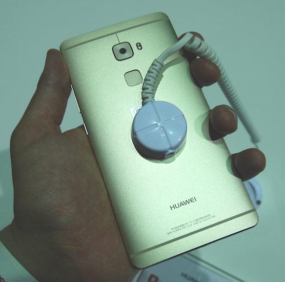 Экран смартфона Huawei Mate S размером 5,5 дюйма распознает силу нажатия