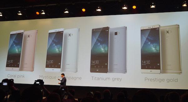 Основой смартфона Huawei Mate S служит SoC Kirin 935