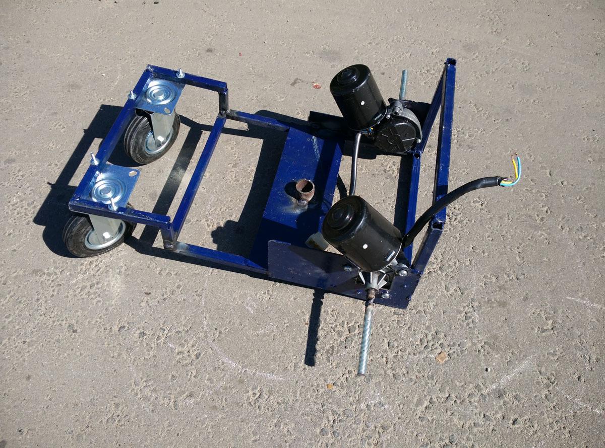 Робот-газонокосилка. От чермета до прототипа - 4