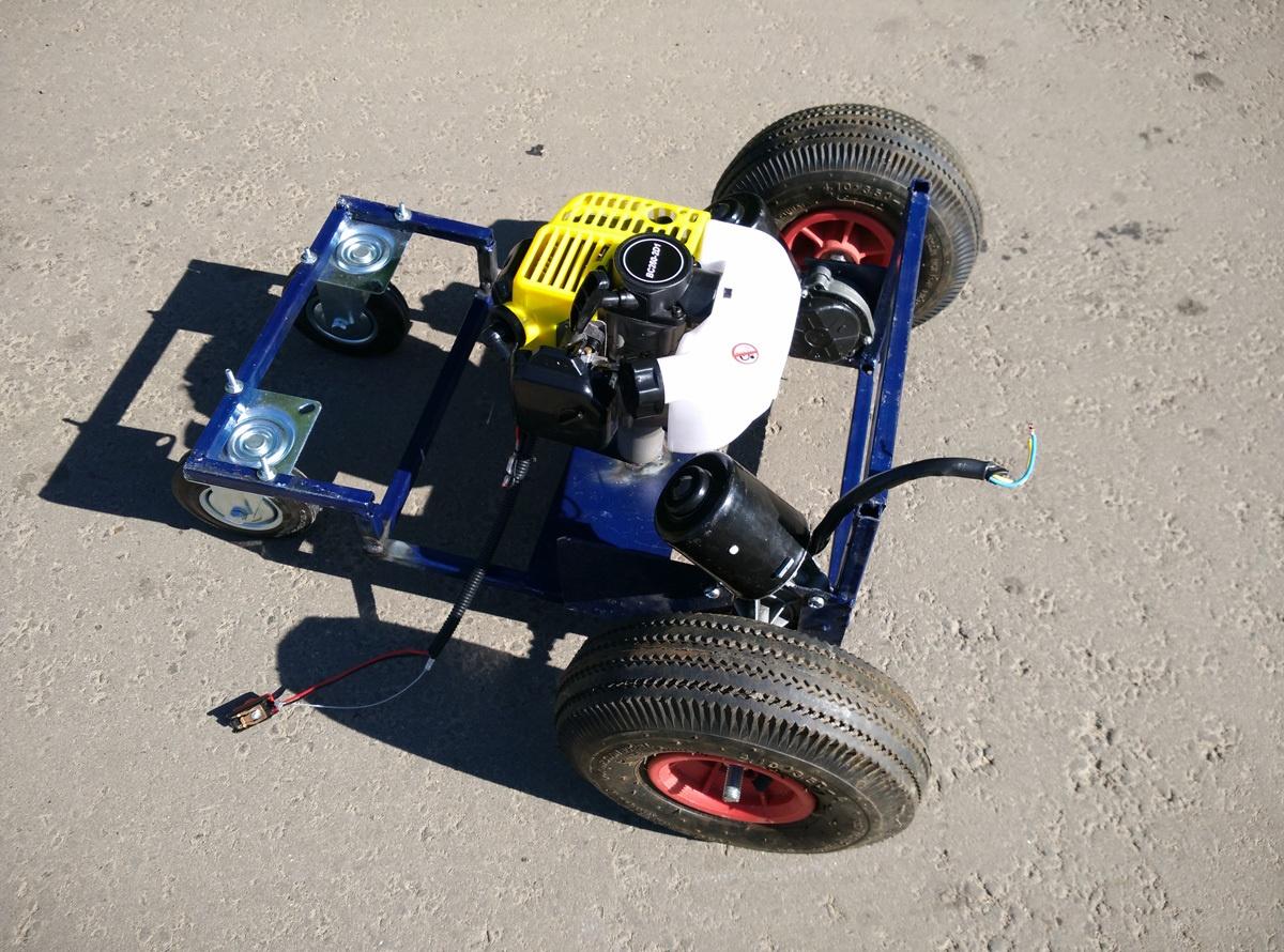 Робот-газонокосилка. От чермета до прототипа - 5