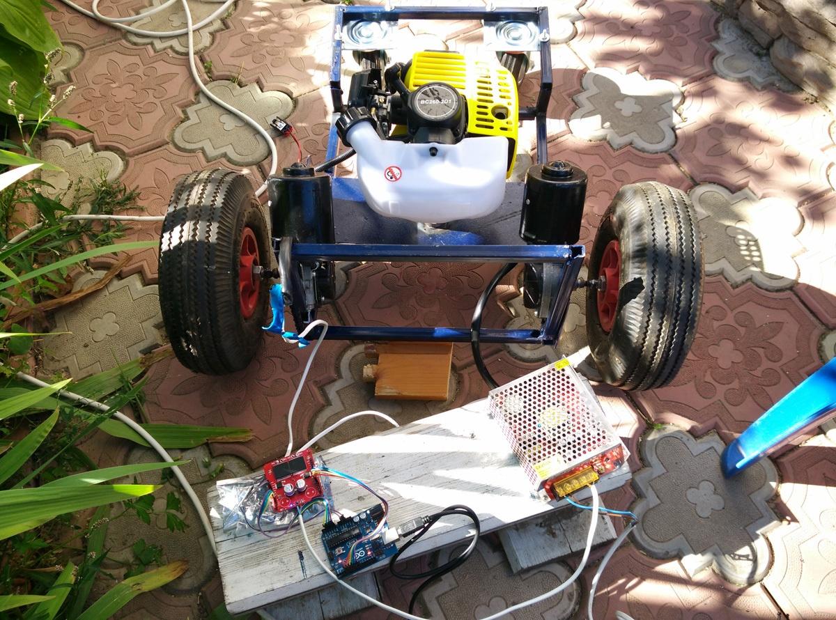 Робот-газонокосилка. От чермета до прототипа - 6