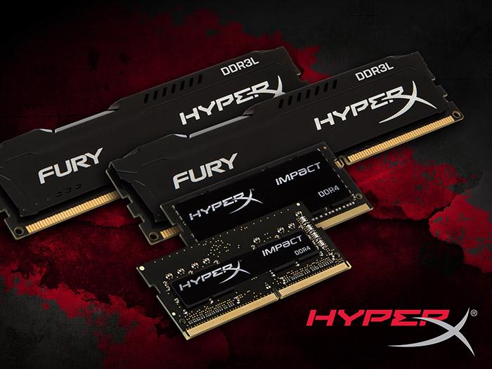Модули HyperX Impact DDR4 SO-DIMM предназначены для ноутбуков, малогабаритных систем и ПК моноблочной компоновки