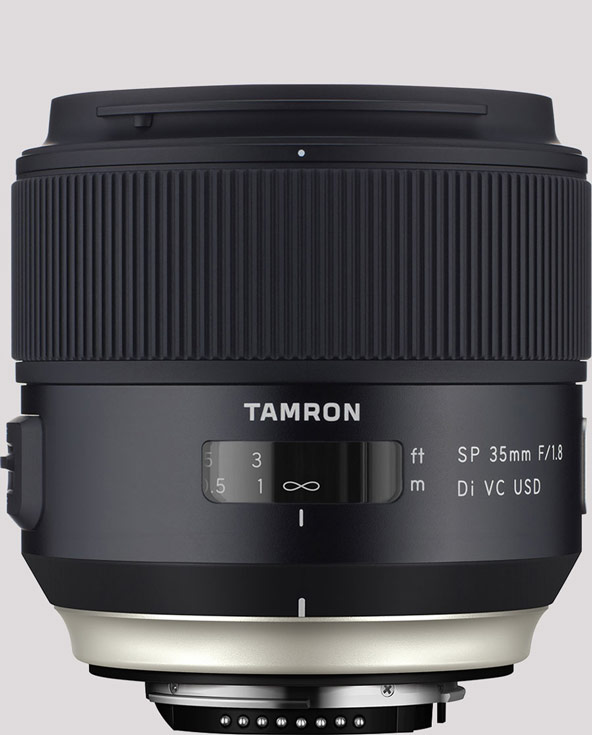 Объектив Tamron SP 35mm F/1.8 Di VC USD (Model F012) стоит $599