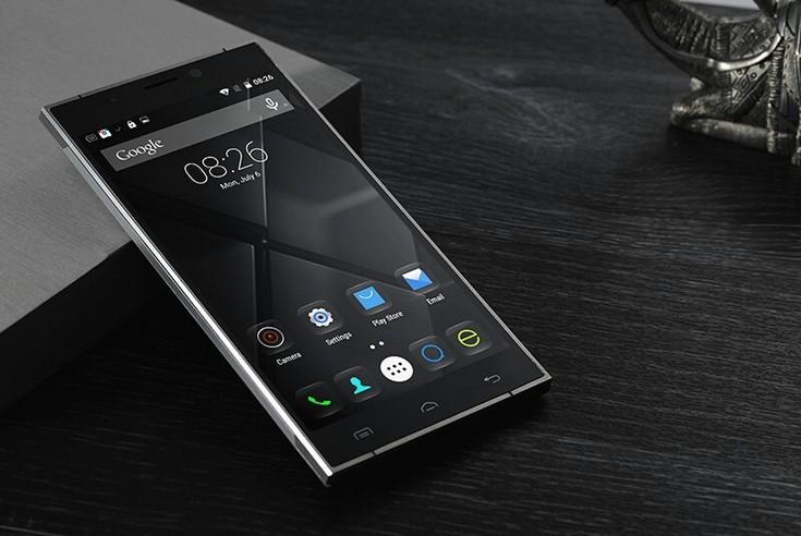 Смартфон Doogee F5 получил запоминающийся дизайн