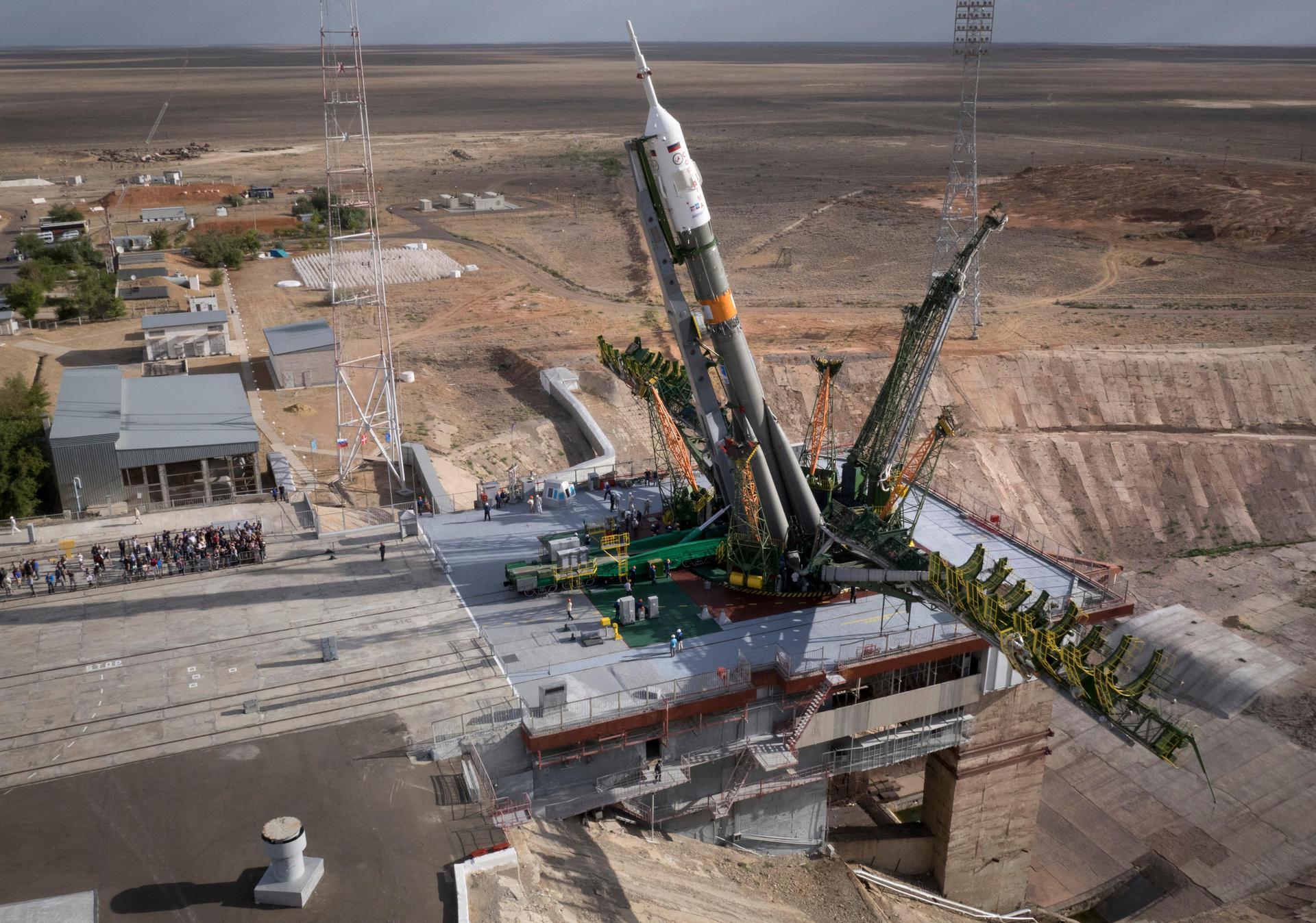 [Запуск успешен] «Союз ТМА-18М» отправится к МКС завтра утром - 1